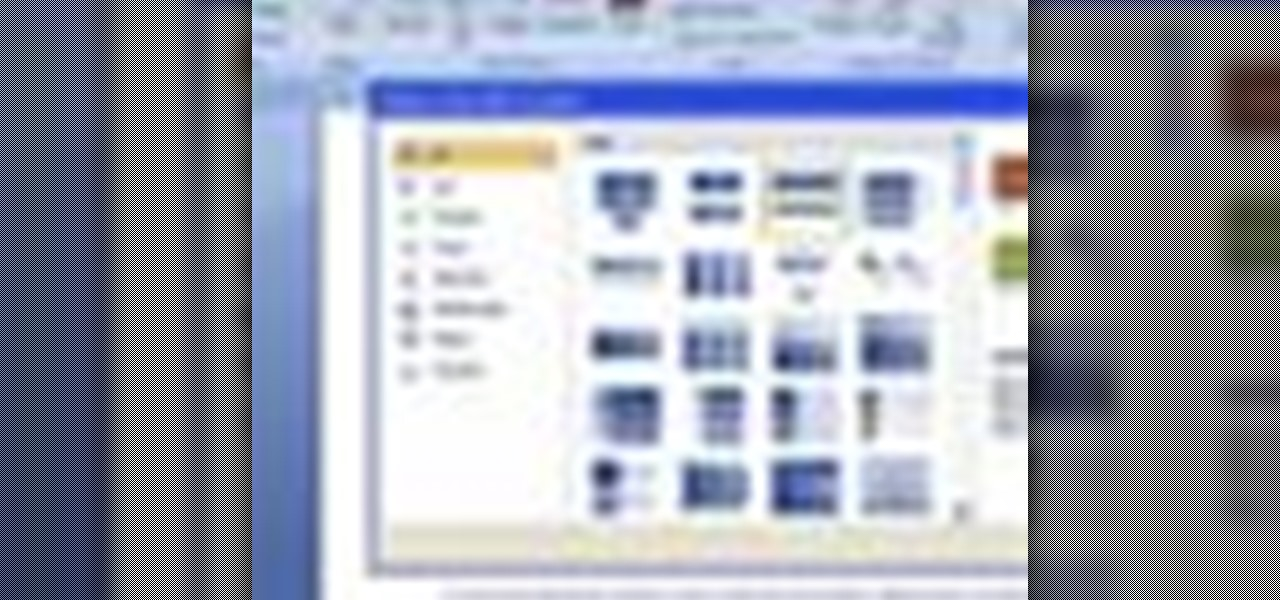 How to Insert a picture or clip art in MS Word 2007 ...