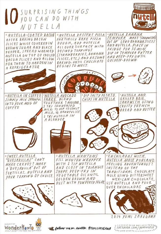 10 Surprising Things You Can Do With Nutella The Secret Yumiverse