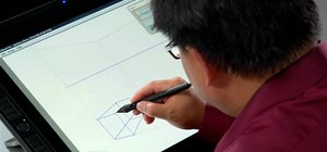 Use the pen display feature in SketchBook Pro 2010