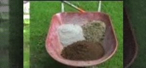Make Hypertufa planters