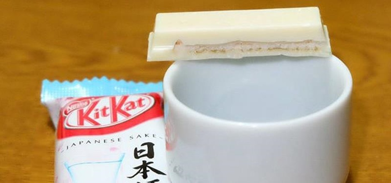 Recreate KitKat's Awesomely Alcoholic Sake Flavor at Home