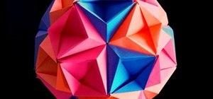 Origami a kusudama