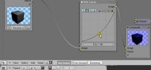 Create lighting effects with Blender's node compositor