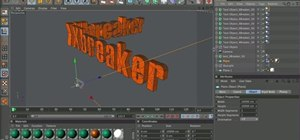 Use the Xbreaker plugin when working in Cinema 4D