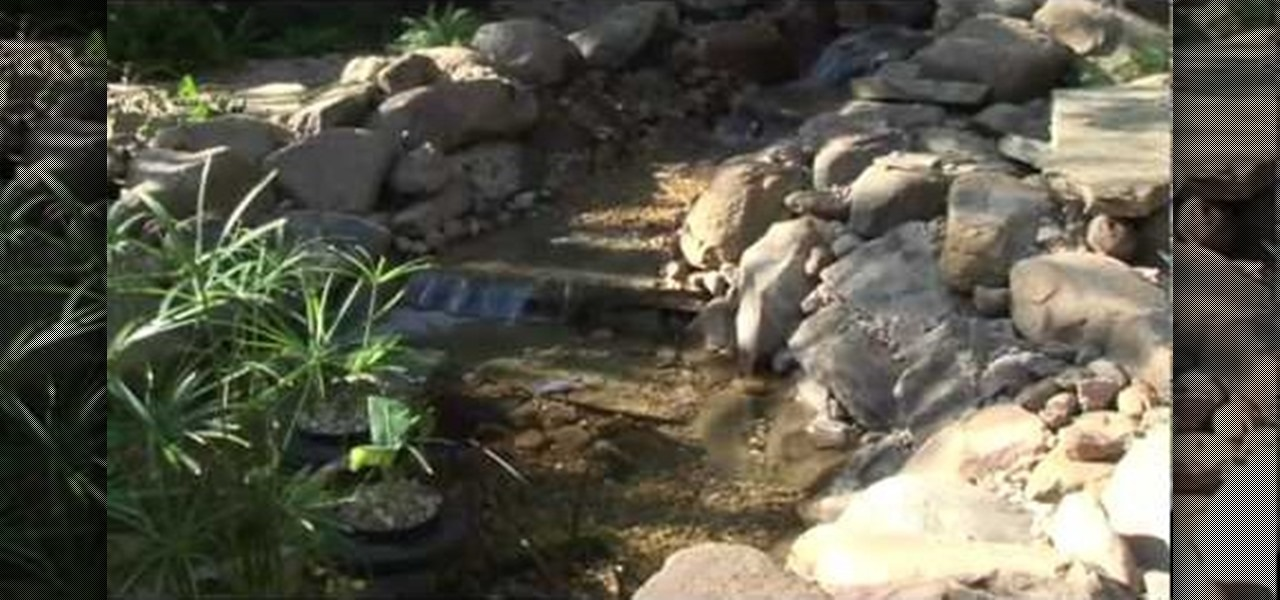 How to build a pond with lowe 39 s landscaping Making a pond