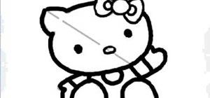 Easily draw Hello Kitty