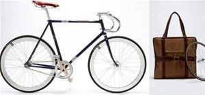 Fancy Bike Folds Into Handy Tote Bag