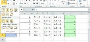 Fill in missing column values with Excel's IF function