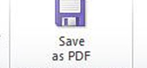 Save Your Word Document as PDF with One Click (Using a Macro)