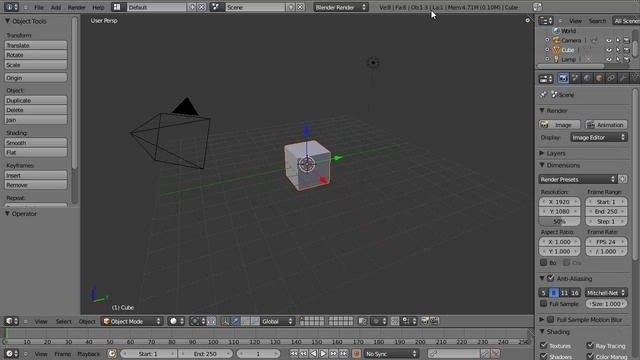 Simplify a messy animation curve in Blender 2.53