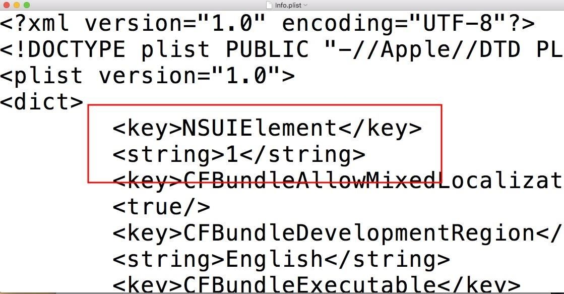 Hacking macOS: How to Create a Fake PDF Trojan with AppleScript, Part 2 (The script is decrypted) [19659021] When opening the fake PDF, two icons are no longer displayed in the macOS dock. </p> <figure> <figure class=