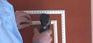 Use an air nailer for trims and mouldings