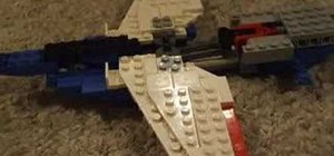 Build a Lego airplane