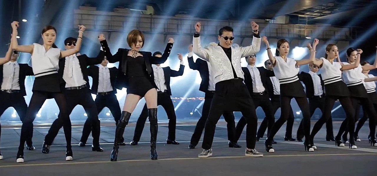 Do the Gentleman Dance Moves from PSY's Newest K-Pop Music Video