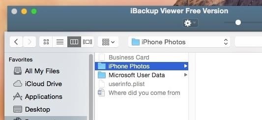 How to Recover Photos & Videos from an Old iPhone Backup Folder
