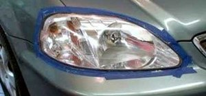 Restore a headlight with Diamondite
