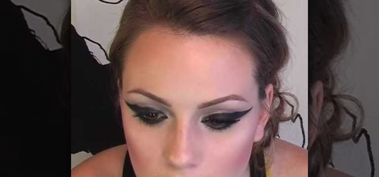 How to Create the makeup look Pink rocks in her music ...