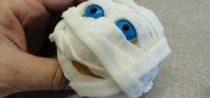 Halloween Mummy cupcake