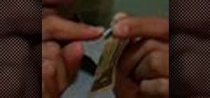 Do the torn bill trick