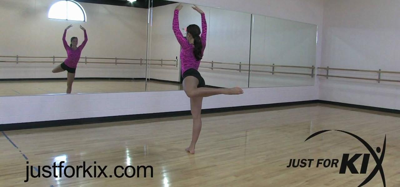 How to Perform an attitude turn « Ballet :: WonderHowTo