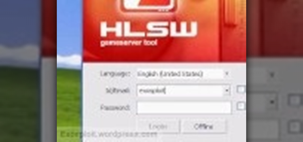 How to Use the HLSW game server organizer program « Software Tips