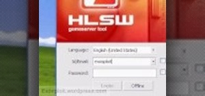 Use the HLSW game server organizer program