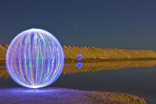 Magical Orbs of Graffiti Light