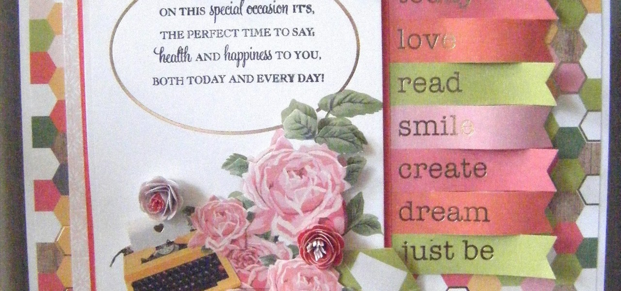 How to Make a Hello Darling Stack Decoupage Card