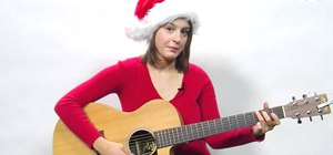 "Play ""Jingle Bells"" on your guitar for the holiday season"