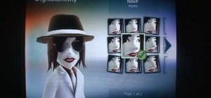 Make a Michael Jackson avatar on XBox 360