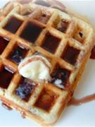 Maple Flavoured Waffles