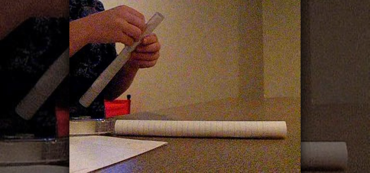 how to make a spitball gun out of paper