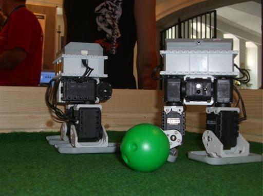 Battling Wii Soccer Robots