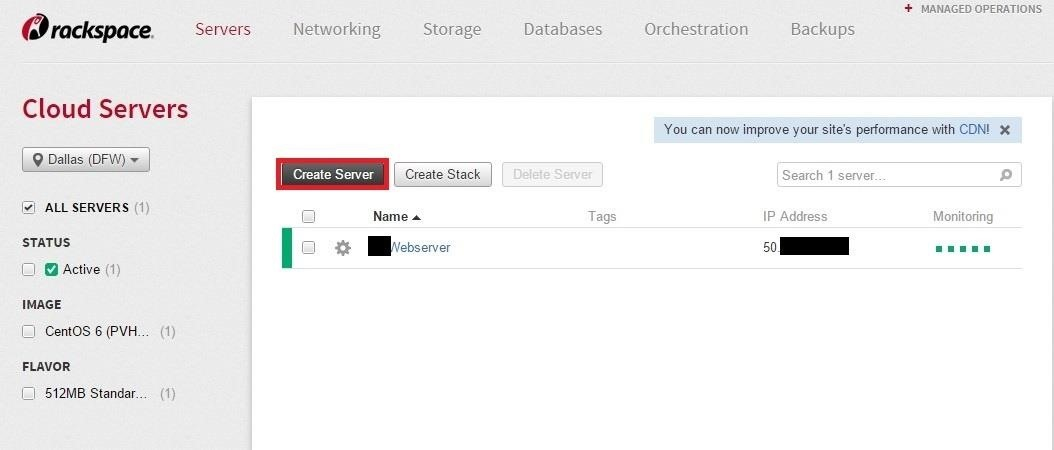 How to Stand Up a Rackspace Cloud Server (Edited)