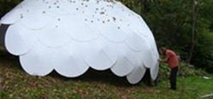 Build a RanDome Geodesic Emergency Shelter