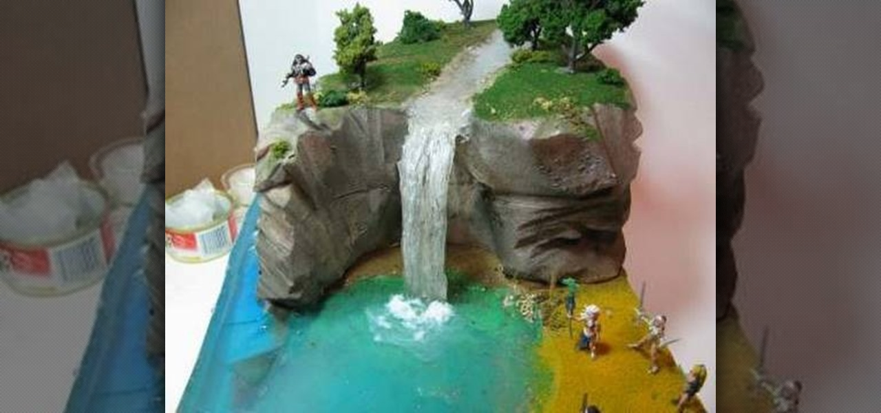 How To Make A Diorama Waterfall Novelty Wonderhowto