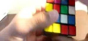 Completely solve the 4x4 Rubik's Cube Revenge
