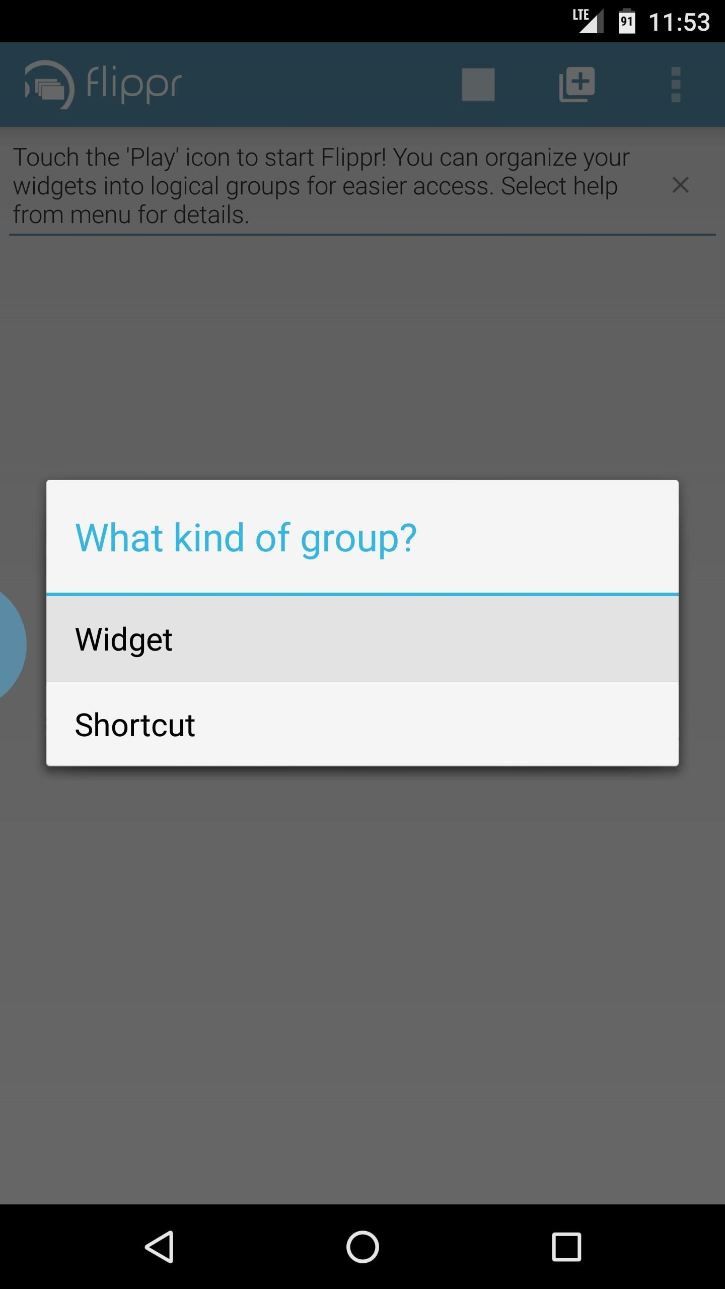 How to View Widgets from Within Any App on Your Android