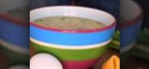 Make egg drop soup