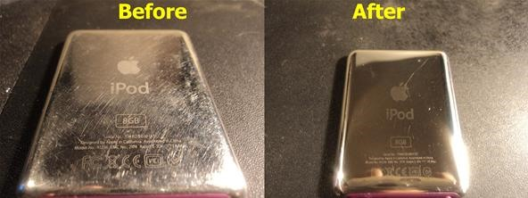 How to Polish And Buff An iPod
