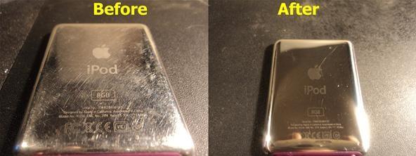 How to Polish And Buff An iPod