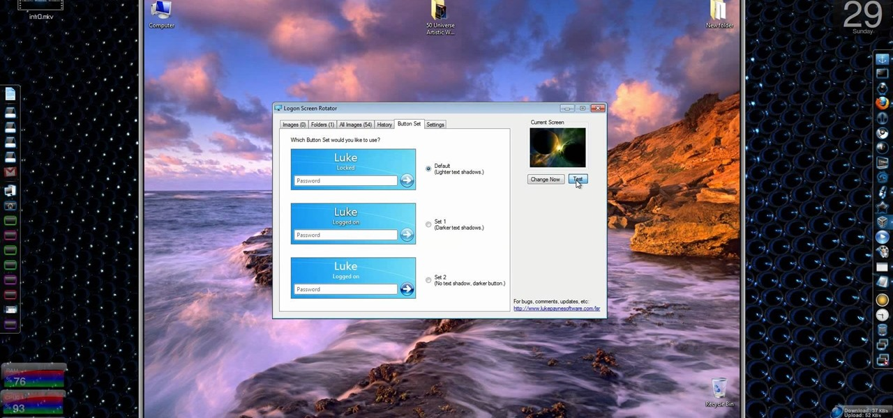 logon screen changer for xp