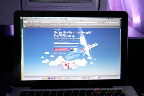 HowTo: Get FREE In-flight Wi-Fi From Google