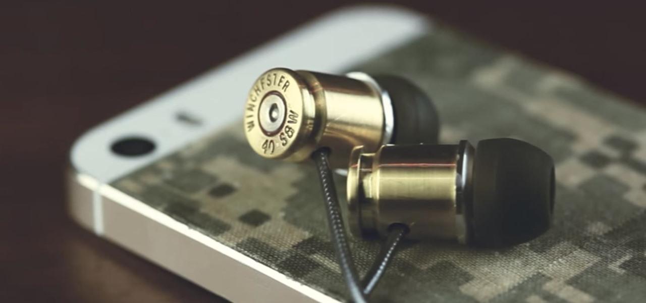 Make DIY Earphones Out of Bullet Shells