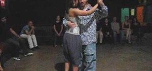 Dance the tango promenade