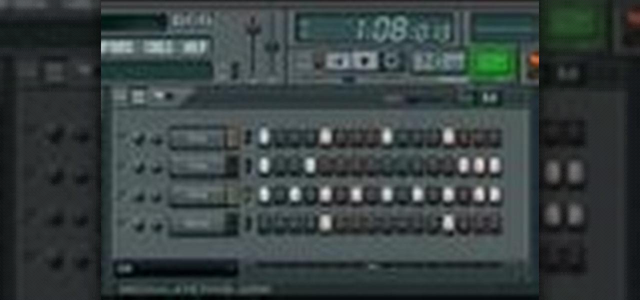 fl studio pattern no sound