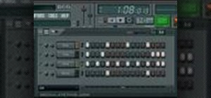 Create a pattern with the step sequencer in FL Studio