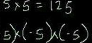 Work with exponents (powers) in basic mathematics