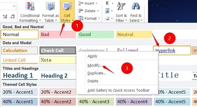 How to Change the Default Font in Excel 2010