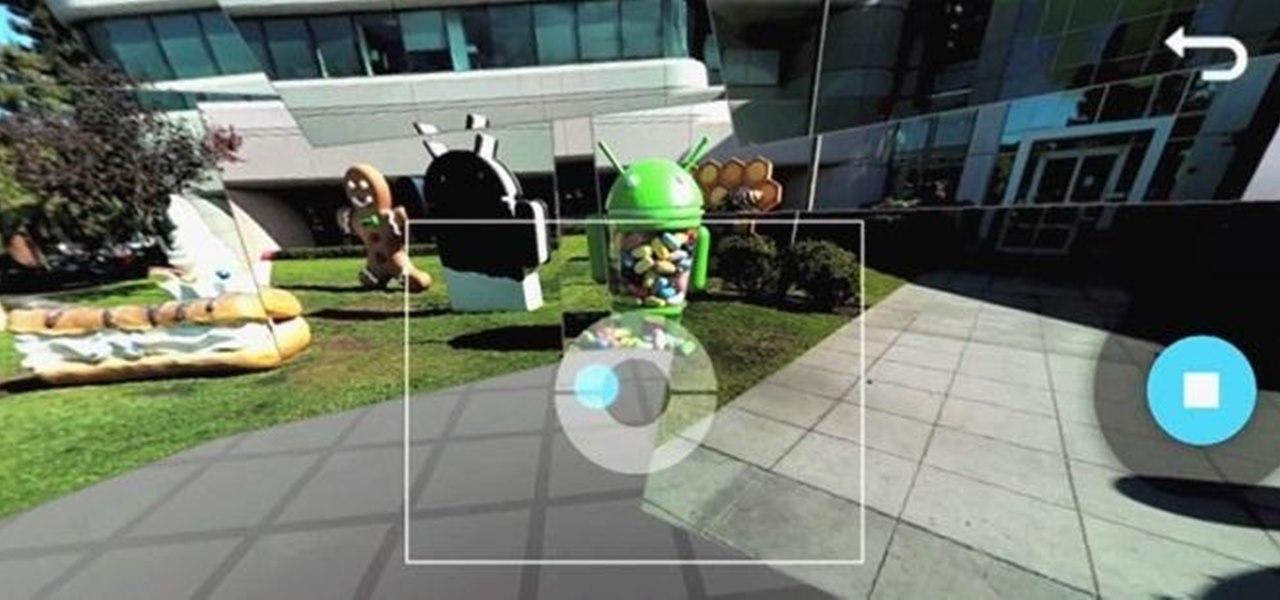 how to take a panoramic picture on android